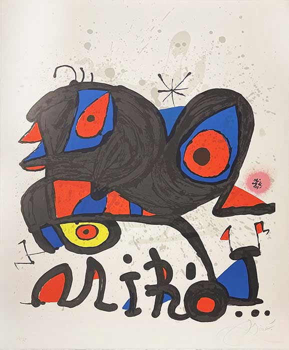 MIRO : louisiana-miro-lithograph