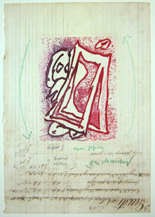 ALECHINSKY : voirie, etching