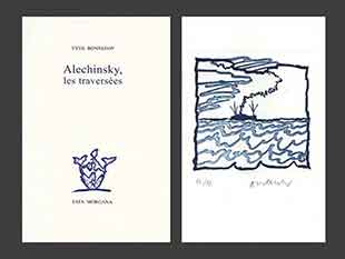 ALECHINSKY : traversees-alechinsky-book