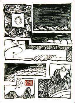 Pierre alechinsky lithographies et gravures sign es estampes for Alechinsky lithographie