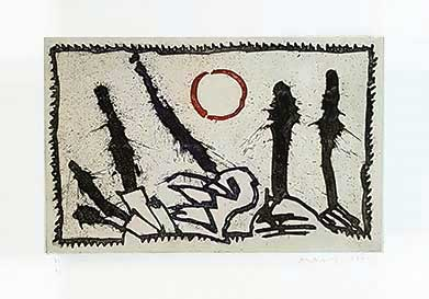 ALECHINSKY : taches-alechinsky-etching