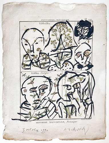 Souvent Pierre Alechinsky, lithographies et gravures signées, estampes KV61