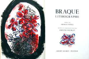 BRAQUE : Braque, lithographs