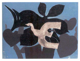 Georges braque original prints signed lithographs for Braque oeuvres