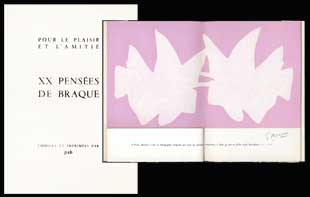 BRAQUE : braque-pensees-book