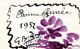 BRAQUE : braque-greetings-1952