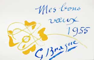 BRAQUE : braque-greetings-1955