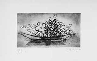 BRAQUE : braque-corbeille-etching