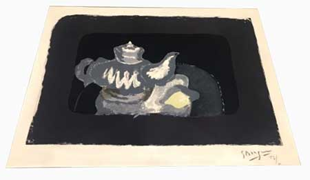 BRAQUE : braque-theiere-grise