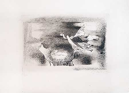 BRAQUE : braque-nid-etching