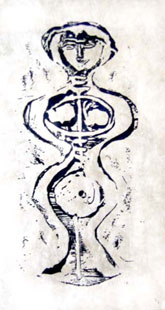 CAMPIGLI : Figure, etching