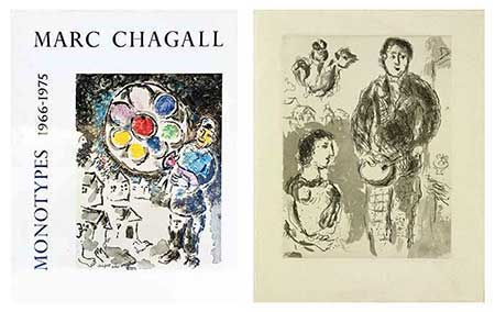 CHAGALL : chagall-monotypes-livre