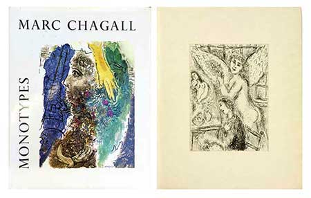 CHAGALL : monotypes-chagall-livre
