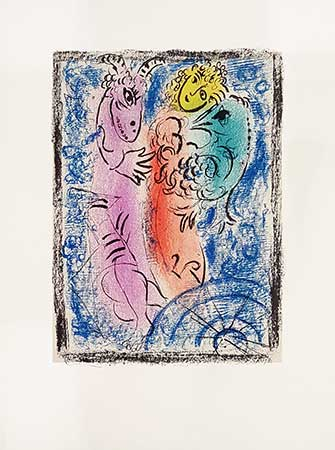 CHAGALL : piege-chagall-lithographie