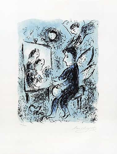 CHAGALL : chagall-lithographie-clarte