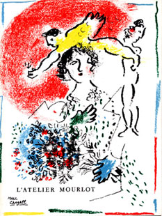 CHAGALL : chagall-atelier-book