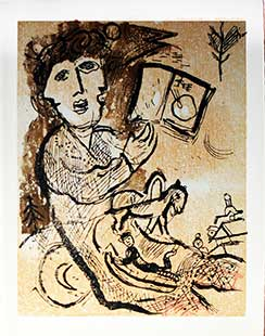 CHAGALL : chagall-poemes-gravure
