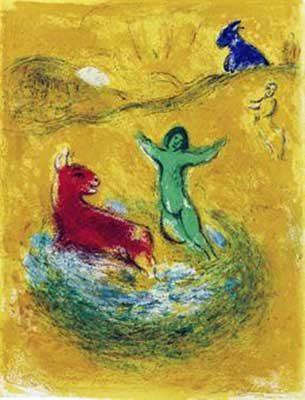 CHAGALL : chagall-piege-lithographie