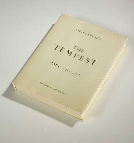 CHAGALL : chagall-tempest-book