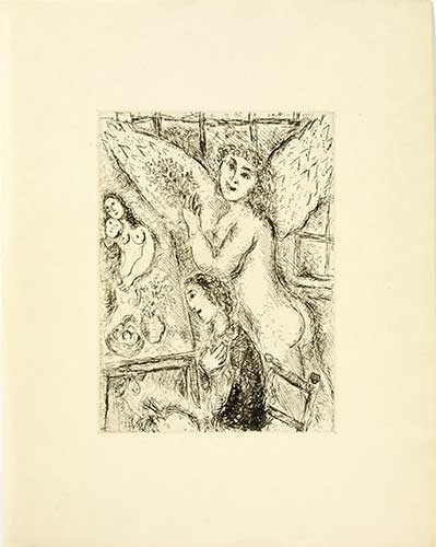 CHAGALL : chagall-apparition-etching