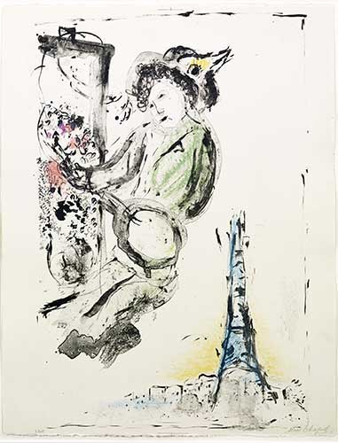 Marc chagall original prints lithographs etchings for Chagall peintre