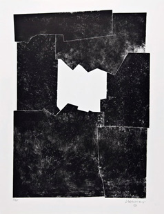 CHILLIDA : chillida-composition-lithograph