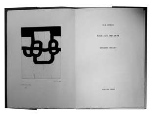 CHILLIDA : chillida-instants-book
