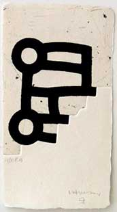CHILLIDA : chillida-lotura-etching