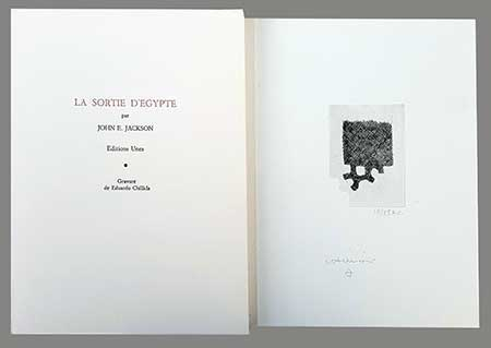 CHILLIDA : chillida-egypte-book