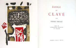 CLAVE : Eloge, lithographs