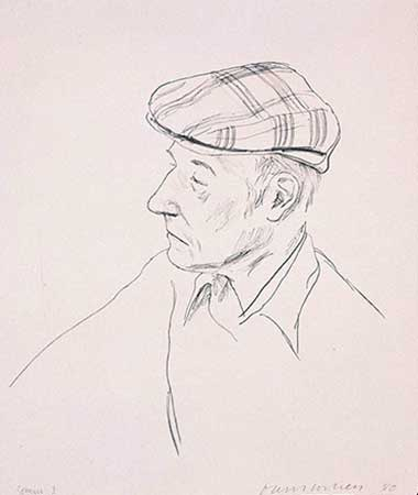 MISC : hockney-portrait-burroughs