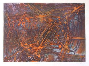 William stanley hayter poisson rouge gravure for Prix poisson rouge 20 cm