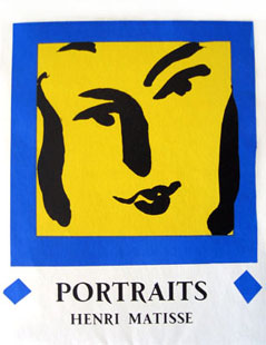 MATISSE : Portraits, lithographies