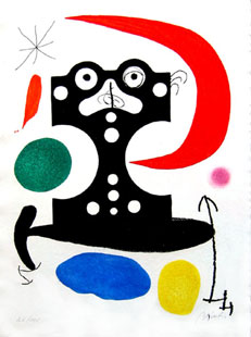 MIRO : Duchamps, etching
