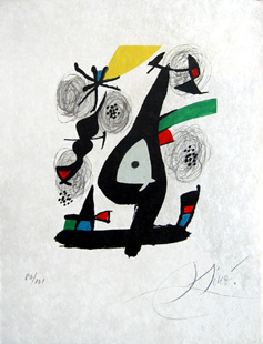 MIRO : melodie acide, lithographs