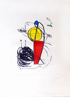 MIRO : miro-chanteur-1-etching
