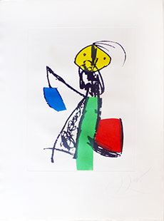 MIRO : miro-chanteur-2-etching
