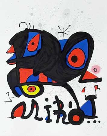 Joan Miro, original prints, lithographs, etchings ...