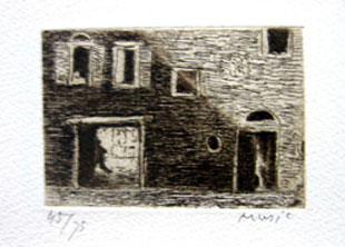 MUSIC : venice, etching