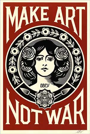 DIVERS : shepard-fairey-art