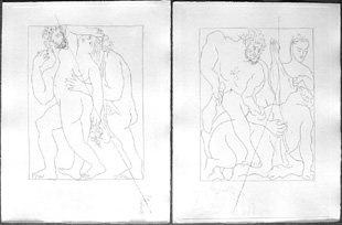 PICASSO : metamorphoses, etchings