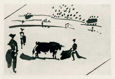 PICASSO : picasso-etching-tauromaquia