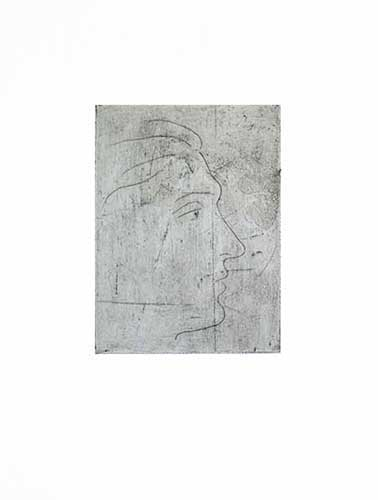 PICASSO : picasso-profil-homme-etching