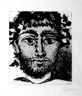 PICASSO : picasso-cromelynck-etching