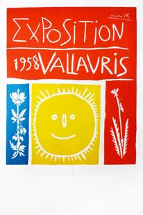PICASSO : picasso-vallauris-58