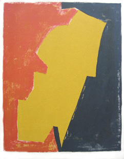 POLIAKOFF : Composition / lithographie