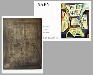 SABY : saby-dragon-etching