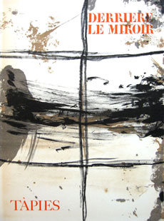 TAPIES : derriere le miroir  168, lithographs