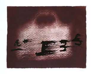 TAPIES : Composition, lithograph