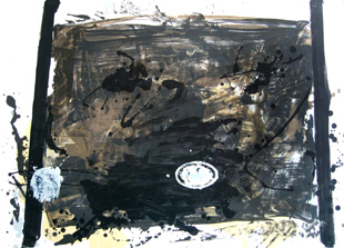 TAPIES : suite, lithograph